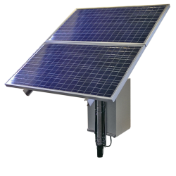 Example of Solar Power Ethernet Kit For Remote Locations 30 Watts Continuous Power System With 6 Hours Of Peak Sunlight