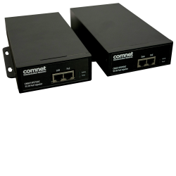 Example of Industrial 75W and 95W Power over Ethernet (POE++)  Midspan Injector for 10/100/1000TX