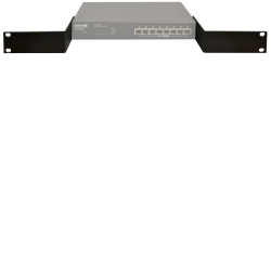 Example of Rack-Mounting Adaptor Bracket Kit for ValueLine Series CWFE8TX8MS Managed Ethernet Switch