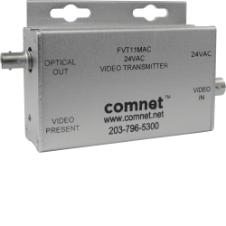 Example of Single Mini Video Transmitter 24 VAC Transformer Isolated