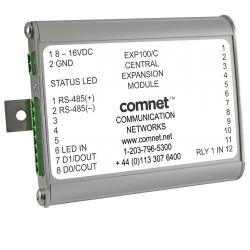 Example of EXP100 Expansion Module for use with FDW1000 Wiegand Module