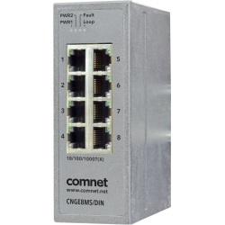 Example of 8-Port Managed Gigabit Switch