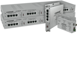 Example of Ethernet-over-Copper Extender With Pass-Through PoE