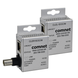 Example of CopperLine® Value Kit: Point-to-Point Mini Ethernet-over-Coax Extender