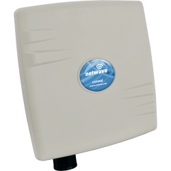 Example of Mini Industrially Hardened Point-To-Multipoint Wireless Ethernet Link