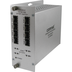 Example of 10/100/1000 Mbps 8 Port Ethernet Unmanaged Switch