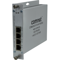 Example of 10/100T(X) 4TX Ethernet Self-managed Switch