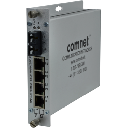 Example of 10/100TX 4TX/1FX Ethernet Self-Managed Switch