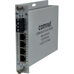 Example of 10/100TX 4TX/1FX Ethernet Self-Managed Switch With Power Over Ethernet (PoE)