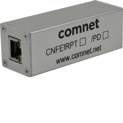Example of 10/100 Mbps Ethernet Repeater With 60 W Pass-Through PoE