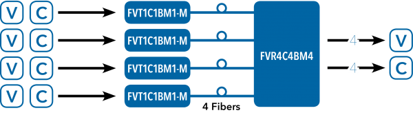 Application Diagram(s) for FVT1C1B1-M Series